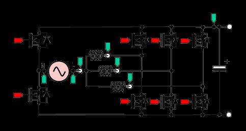 [그림 1] 인터리브 연속 전도 모드(CCM) 레퍼런스 디자인을 위한 PFC 토폴로지.png