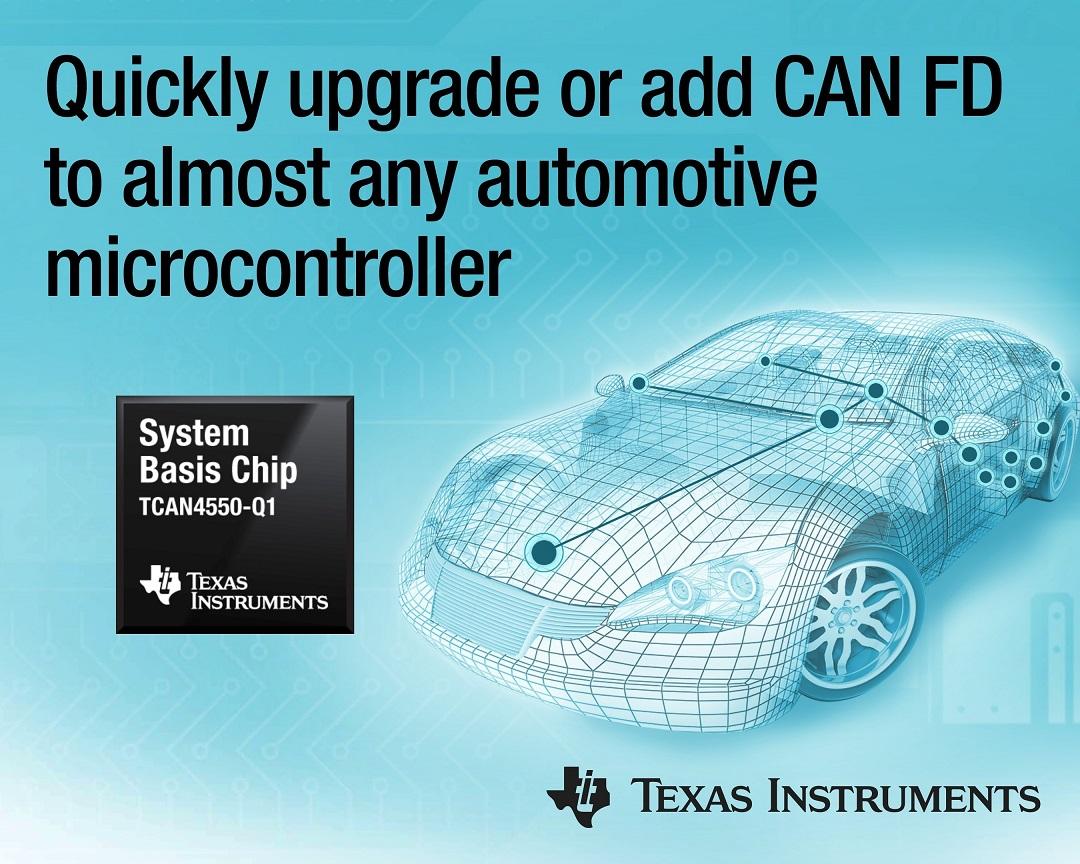 [사진자료] TI, 업계 최초로 CAN FD 컨트롤러와 트랜시버를 통합한 차량용 SBC 제품 출시.jpg