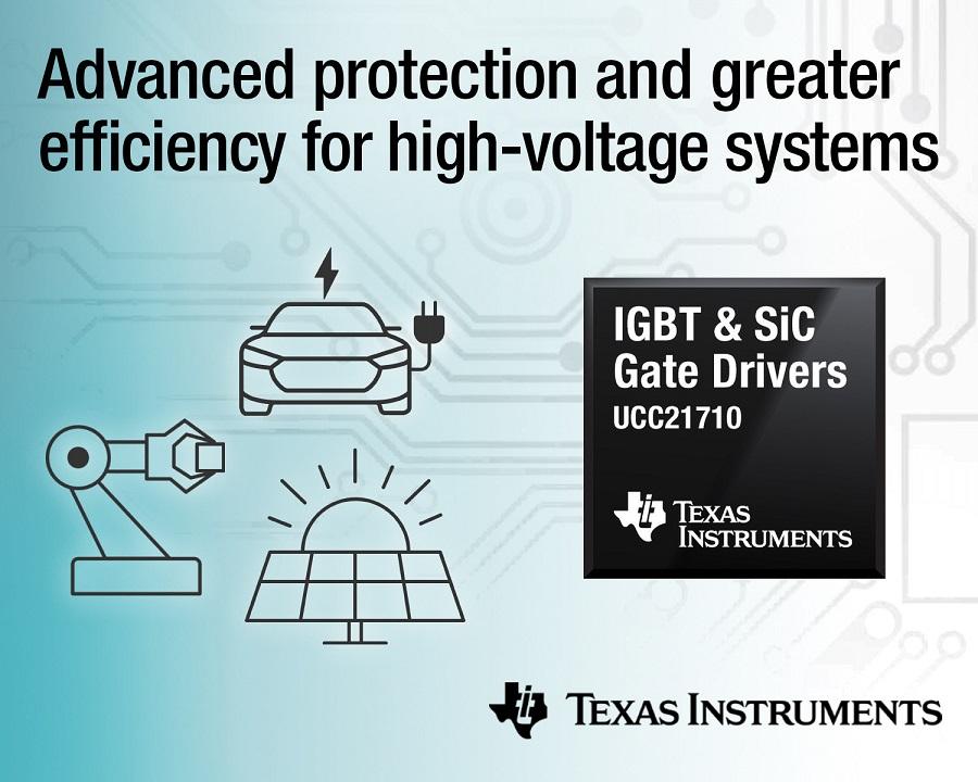[사진자료] TI, 에너지 절약 및 고전압 시스템 보호를 위한 업계 최초의 절연 게이트 드라이버.jpg