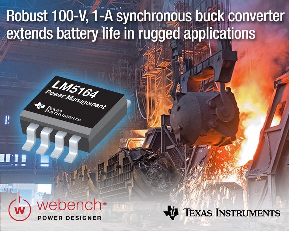 [사진자료] TI의 견고한 100V 1A 동기 벅 컨버터를 사용해서 보드 공간 절약, 효율 향상, 설계 간소화.jpg